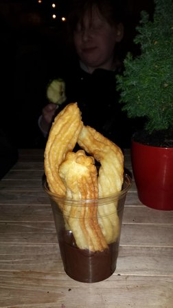 Bruhl, Germania: Churros and Chocolate Sauce