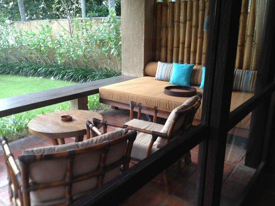 Jeeva Klui Resort : front porch