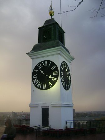 The Clock Tower: The clock