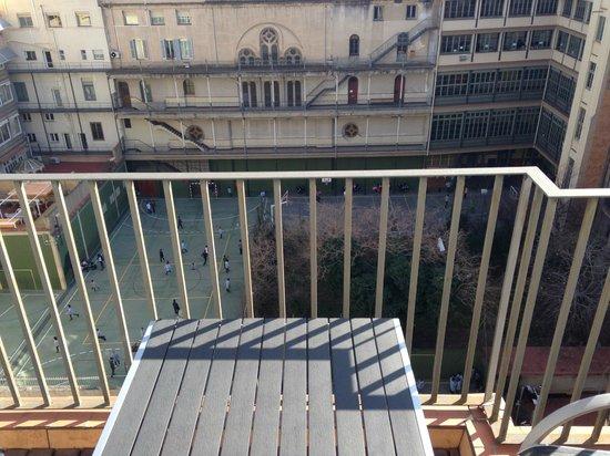 Hotel Acta Atrium Palace: View from my Balcony
