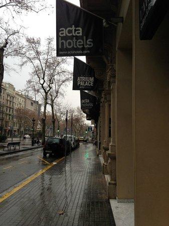 Hotel Acta Atrium Palace: Hotel from Outside