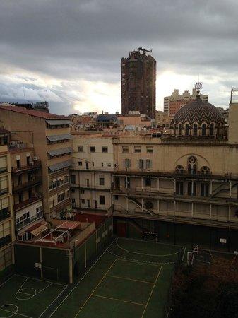 Hotel Acta Atrium Palace: View from Balcony