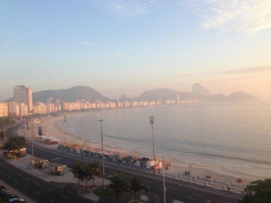Orla Copacabana Hotel : Sunrise Copacabana-2