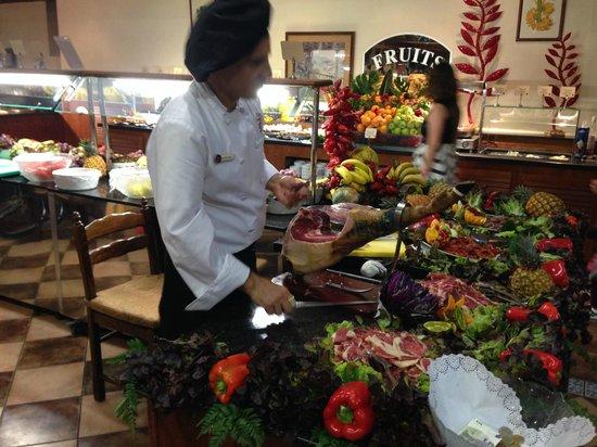 GF Isabel : Silvesterbuffet