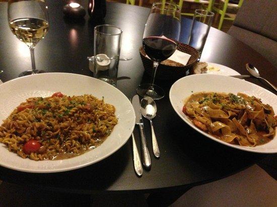 AC Hotel Bella Sky Copenhagen: Pasta big portions