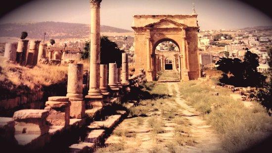 Ruinen von Gerasa: Great architectures.