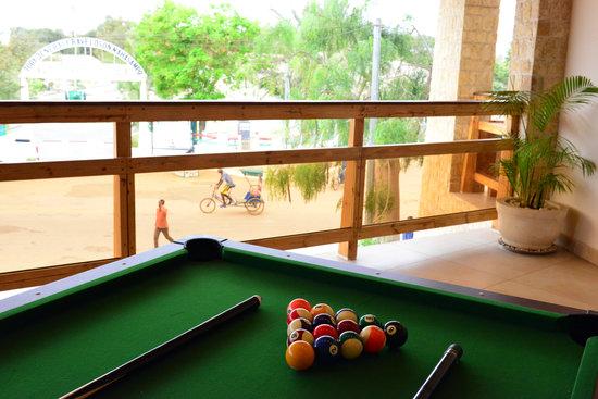 Moringa Hotel: Table billard - Photo Flavie Jeannin