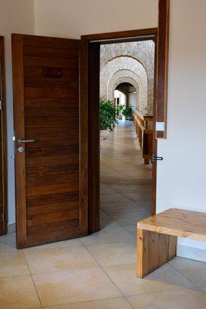 Moringa Hotel: Sortie de la chambre - photo Flavie Jeannin
