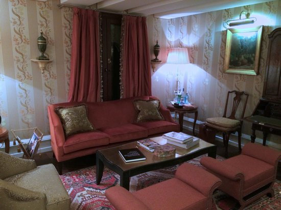 The Gritti Palace, A Luxury Collection Hotel: Gritti Sitting Room