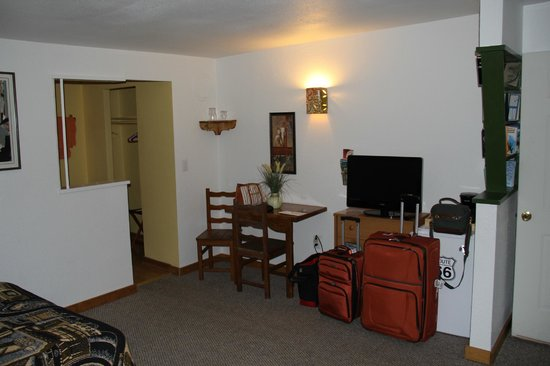 Globetrotter Lodge: grosses Zimmer