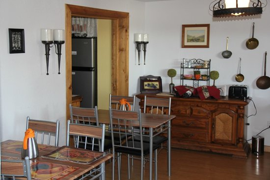 Globetrotter Lodge: Frühstücksraum