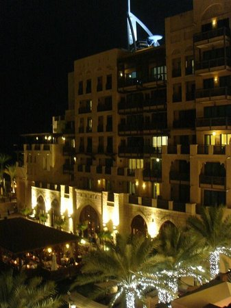 Jumeirah Mina A'Salam : View from my room by night