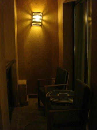 Jumeirah Mina A'Salam : Balcon by night