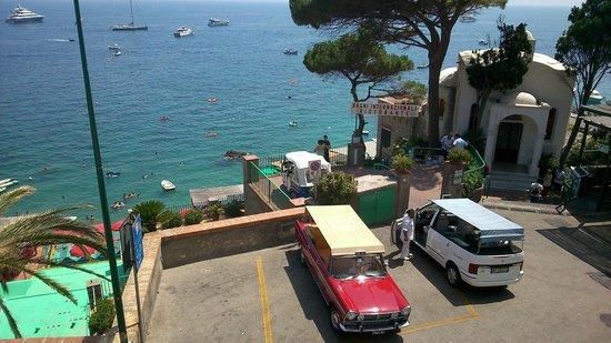 Ristorante la Piazzetta : vista dalla terrazza