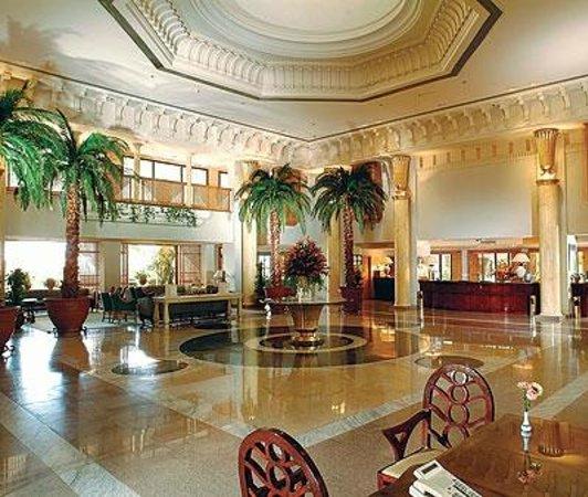 InterContinental Hotel Hurghada : The lobby in the Hotel InterContinental, Hurghada