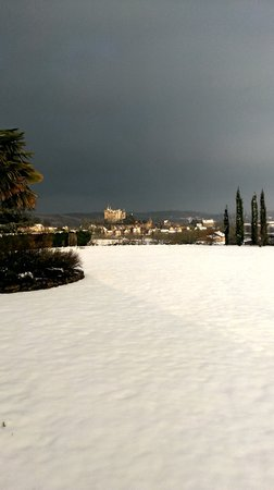 Vitrac, France : la magie de la neige