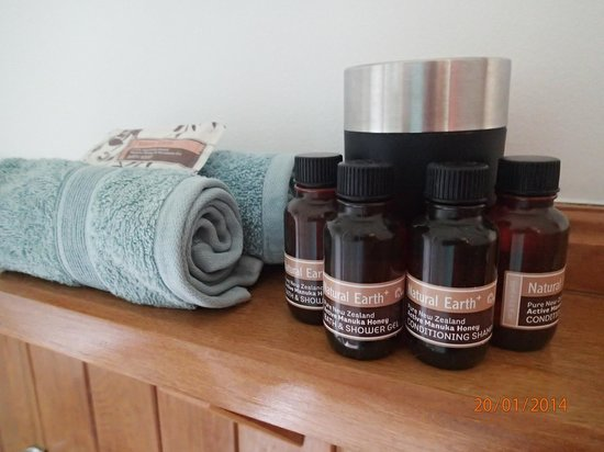 Grafton Cottage and Chalets : Complimentary toiletries
