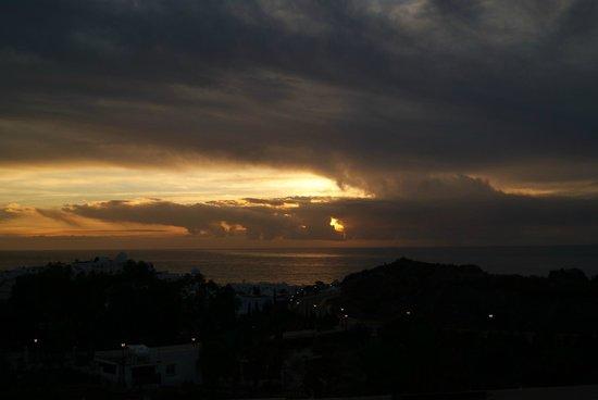 Apartamentos Spirit de Mojacar: Amanecer desde la terraza