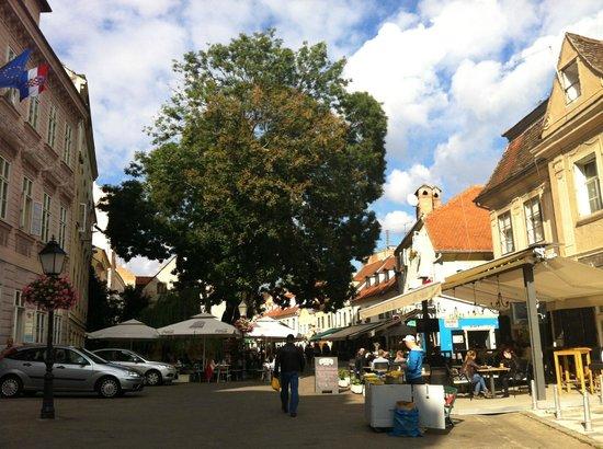 Tkalciceva: Street wiew