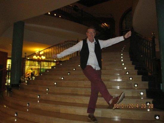 Bahia Principe Costa Adeje : Stairway to reception Bahia Tenerife