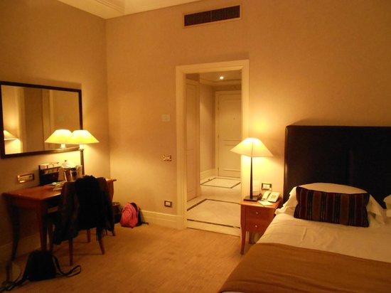 Hotel Dei Mellini: vue sur le sas d'entrée
