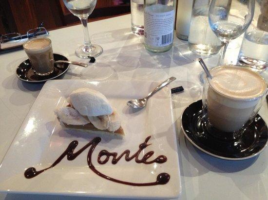 Montes: Banoffee tart at Monte's ����