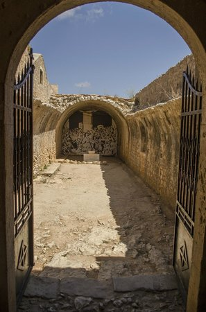 Sacred Monastery of Arkadi: Qui si ammassarono e moriroro i cretesi