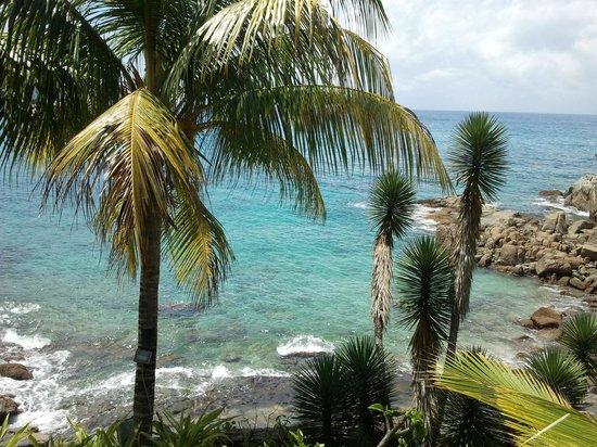 Sunset Beach Hotel: Вид из номера 102 наилучший