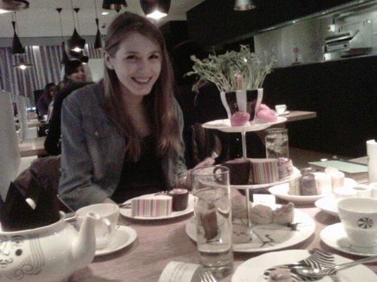 Sanderson London Hotel : Salon de thé Alice au pays des merveilles