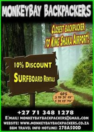 Monkey Bay Backpackers: posters