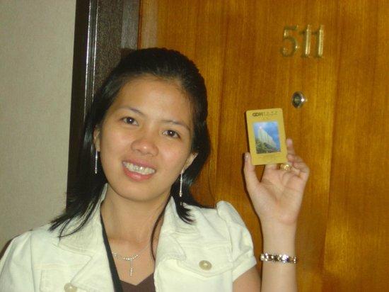 Guangdong Hotel Hong Kong: Hotel room