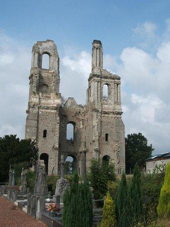 Abbaye de Mont-Saint-Eloi: Avant la restauration