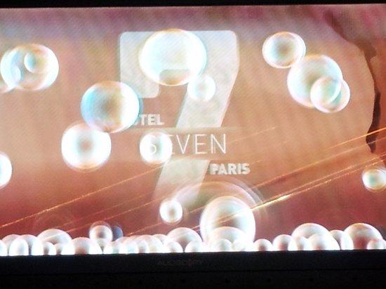 Seven Hotel Paris: L'entrée