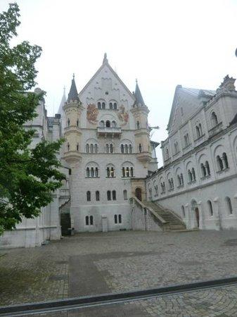 Neuschwanstein Castle: front view