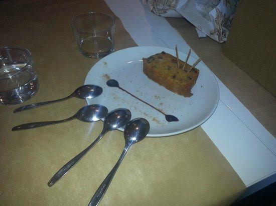 La Capella: Pastel de zanahoria con nueces!! ummmmmm