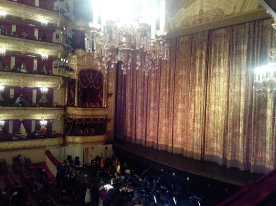 Bolschoi-Theater: Сцена