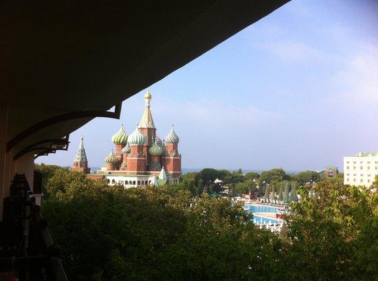 World of Wonders Topkapi Palace Hotel: Вид с балкона номера