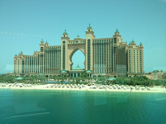 Atlantis, The Palm: From the monorail