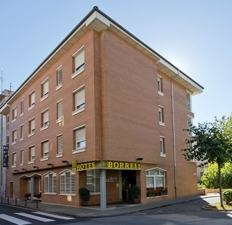 Hotel Borrell: Fachada hotel