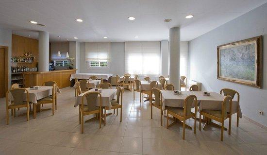 Hotel Borrell: comedor desayuno