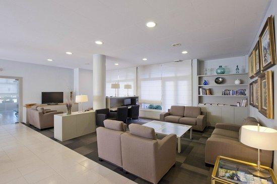 Hotel Borrell: salón
