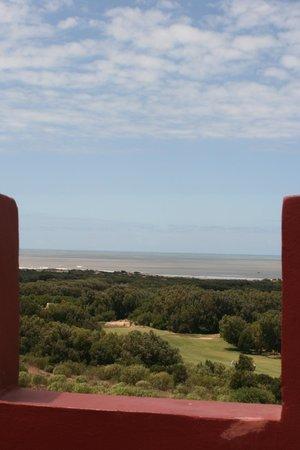 Riad Kaleido : magnifique vue de la terrasse sur l'atlantique,forêt,golf etc. ...