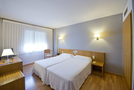Hotel Borrell: habitación
