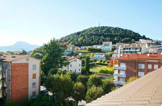 Hotel Borrell: vista