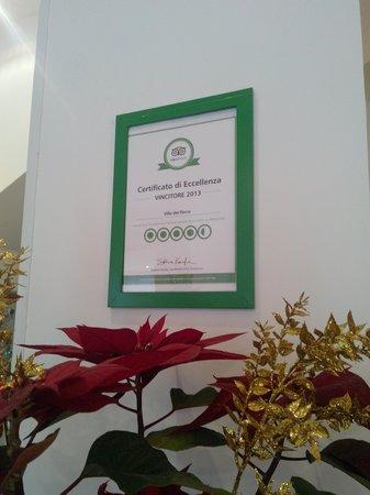 Hotel Villa del Parco : Eccellenza a tutti gli effetti