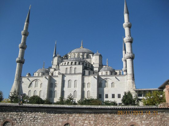 Istanbul Dora Hotel: The Blue Mosque...