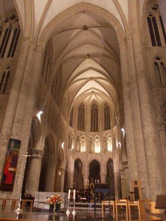 Cathédrale Saints-Michel-et-Gudule de Bruxelles : cattedrale saint michel et saint gudule - interno