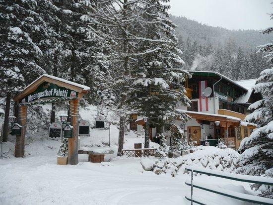 Alpengasthof Paletti: eingang paletti