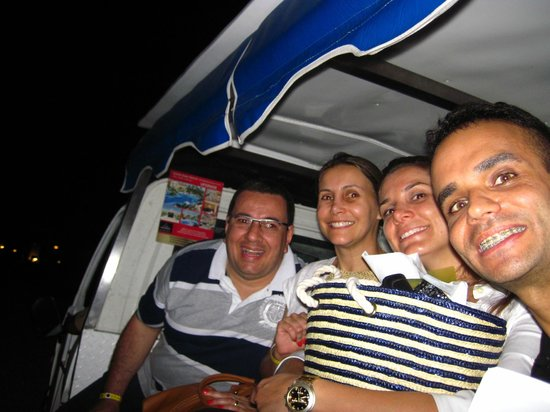 Grand Bahia Principe Bavaro : Transporte dentro do Hotel