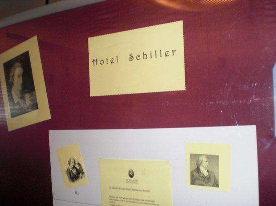 Hotel Schiller Freiburg: Im Fahrstuhl